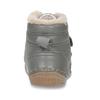 Dětská šedá kožená kotníková zimní obuv froddo, šedá, 194-2610 - 15