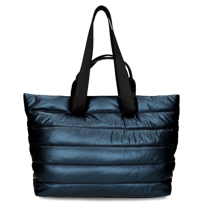 Dámská kabelka v modré metalíze gabor, modrá, 961-9801 - 26