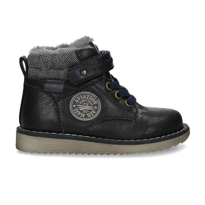 Zimní dětská kotníčková obuv bubblegummers, modrá, 111-9607 - 19
