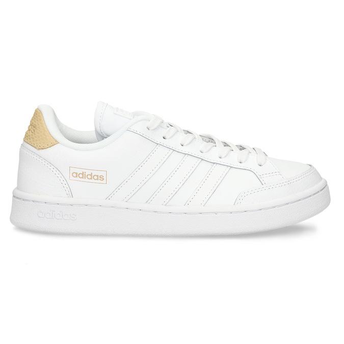 Bílé dámské tenisky s hadím detailem adidas, bílá, 501-1471 - 19