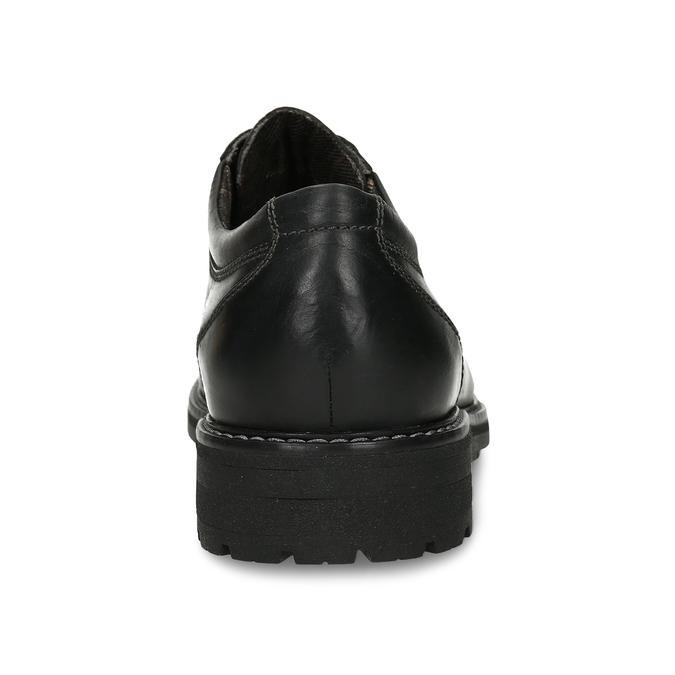 POLOBOTKY PÁNSKÉ ČERNÉ bata, černá, 826-6616 - 15