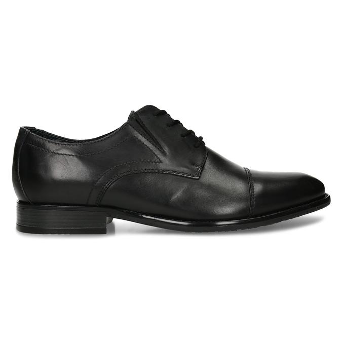 Pánské polobotky derby v černé barvě bata, černá, 824-6701 - 19