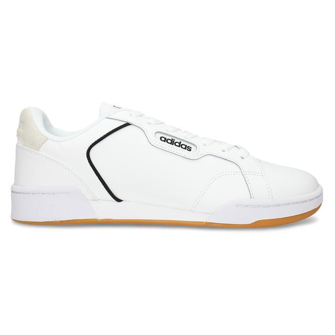 Bíločerné pánské tenisky adidas, bílá, 801-1341 - 19