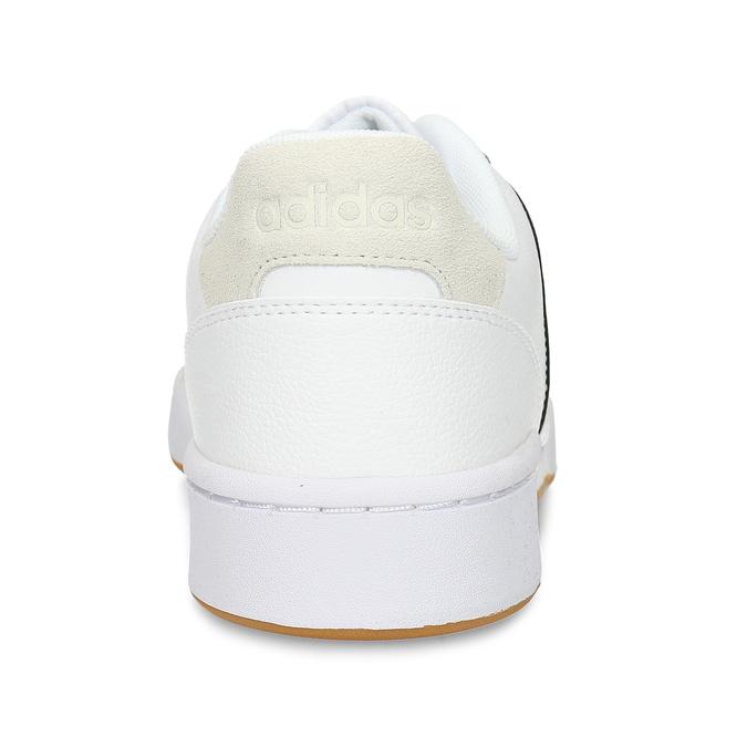 Bíločerné pánské tenisky adidas, bílá, 801-1341 - 15