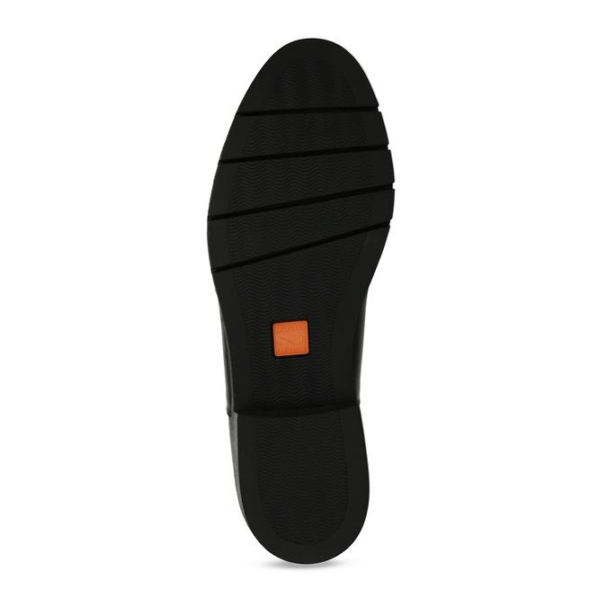 Dámská kožená obuv v Chelsea stylu flexible, černá, 594-6723 - 18