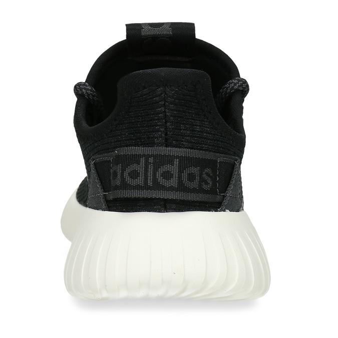 Černé dámské žíhané tenisky adidas, černá, 509-6186 - 15