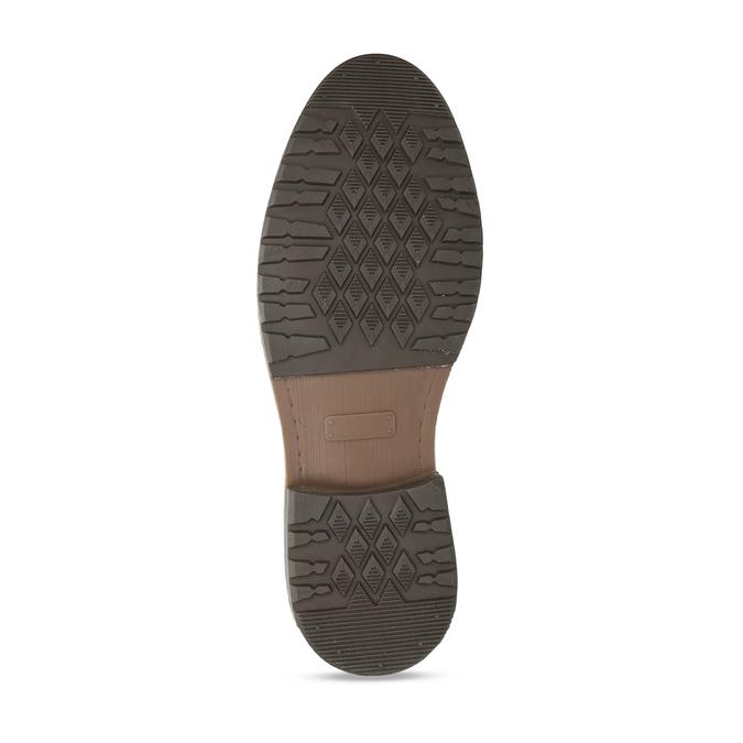 Pánská zimní obuv v šedé kůži bata, šedá, 896-2727 - 18