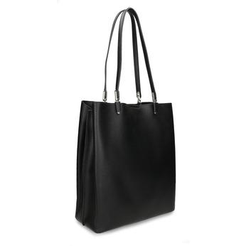 ELEGANTNÍ VĚTŠÍ ČERNÁ KABELKA bata, černá, 961-6648 - 13