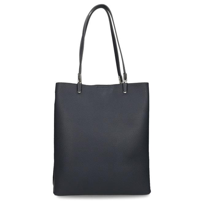 Minimalistická tmavě modrá kabelka s tenkými uchy bata, modrá, 961-9648 - 16