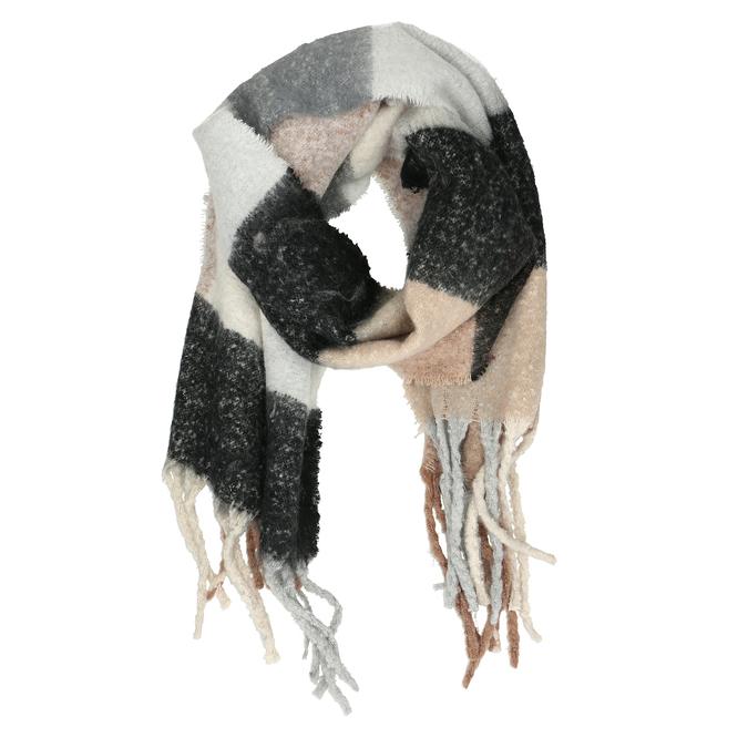 Vícebarevná dámská šála se střapci bata, vícebarevné, 909-0213 - 16