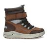 Chlapecká hnědá zimní obuv mini-b, hnědá, 311-4602 - 19