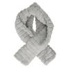 Chundelatá šála v černé, béžové nebo šedé barvě bata, vícebarevné, 909-0540 - 16