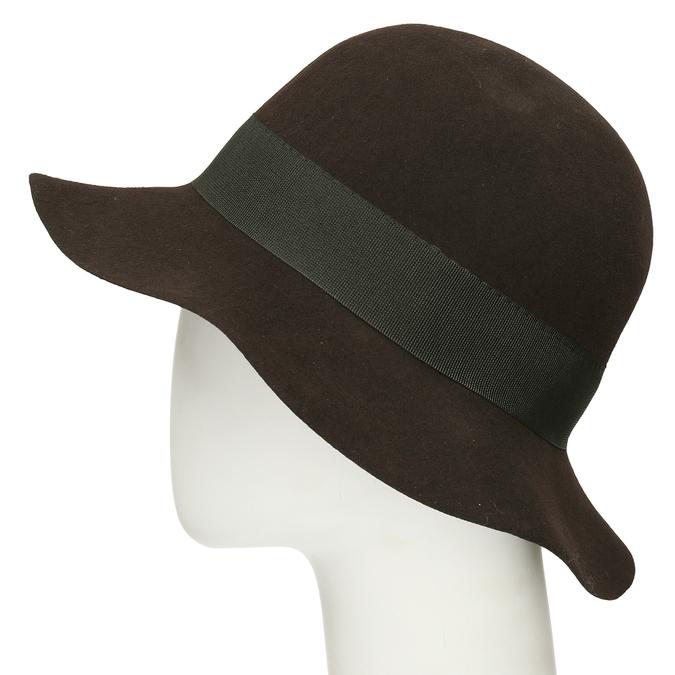 Černý dámský klobouk bata, černá, 909-6697 - 16