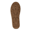 Hnědé dámské kožené válenky bata, hnědá, 593-8610 - 18