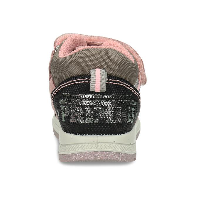 Růžová kožené dětská a obuv v outdoorovém stylu primigi, růžová, 123-5622 - 15