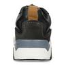 Černé kožené tenisky v městském stylu bata, černá, 846-6621 - 15