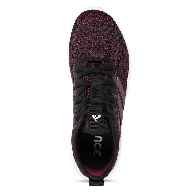 Černo-růžové dámské sportovní tenisky adidas, černá, 509-6242 - 17