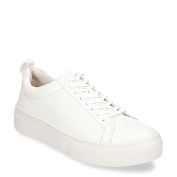 Bílé dámské kožené tenisky vagabond, bílá, 544-1609 - 13