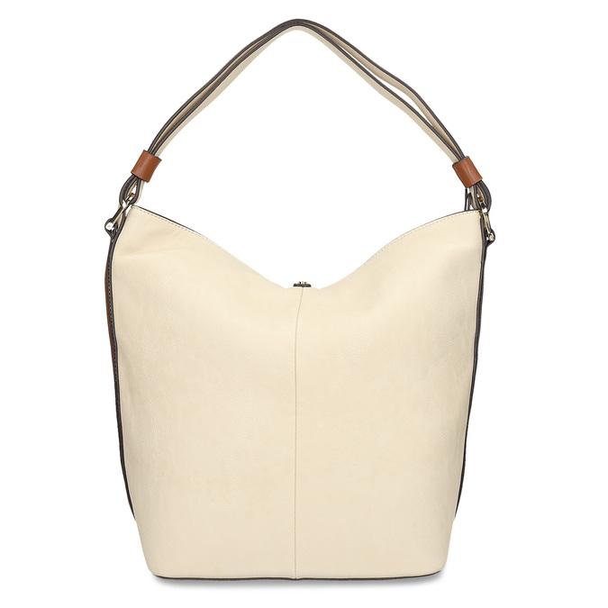 kabelka v Hobo stylu bata, béžová, 961-8705 - 16