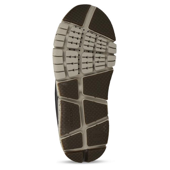 Hnědá chlapecká kotníková zimní obuv geox, hnědá, 391-8378 - 18