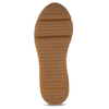 Dámské béžové tenisky na flatformě bata, béžová, 549-8616 - 18