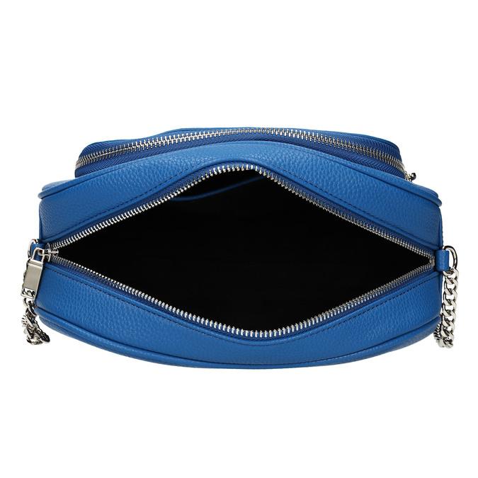 Modrá dámská kabelka bata, modrá, 961-9612 - 15