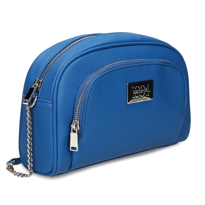 Modrá dámská kabelka bata, modrá, 961-9612 - 13