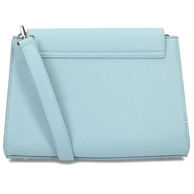 Modrá dámská crossbody kabelka bata, modrá, 961-9611 - 16