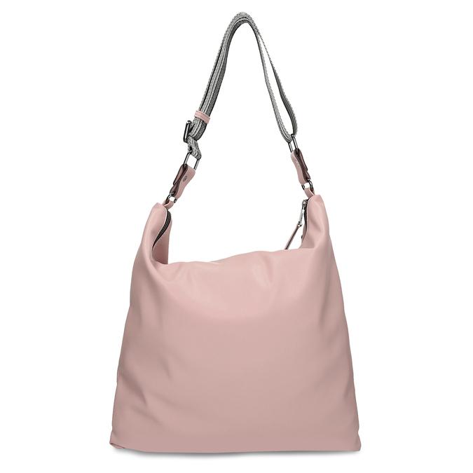 Růžová dámská kabelka s geometrickým vzorem bata, růžová, 961-5674 - 16