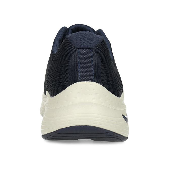 Modré pánské sportovní tenisky skechers, modrá, 809-9121 - 15