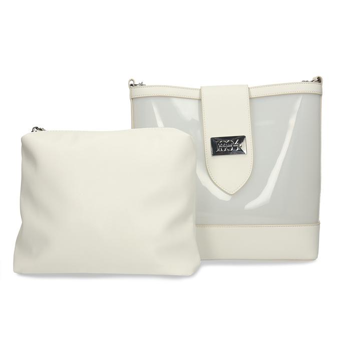 Bílá dámská kabelka přes rameno bata, bílá, 961-1601 - 26