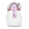 Bílé dívčí kožené tenisky s neonovými detaily mini-b, bílá, 424-1608 - 15