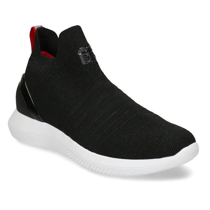 Černé dámské slip-on tenisky bata, černá, 539-6602 - 13