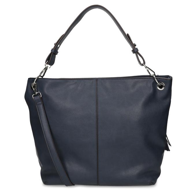 Modrá dámská kabelka bata, modrá, 961-9675 - 16
