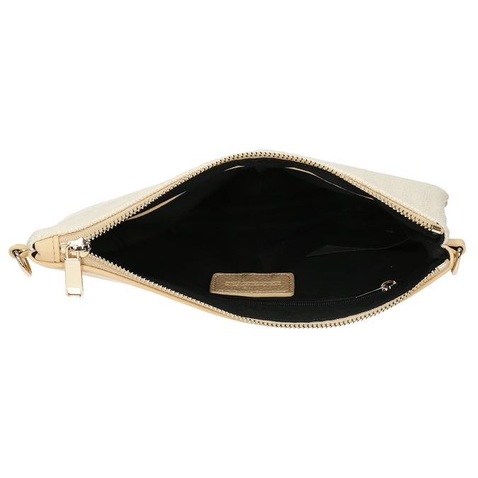 Béžová dámská malá kabelka crossbody bata, béžová, 961-8608 - 15