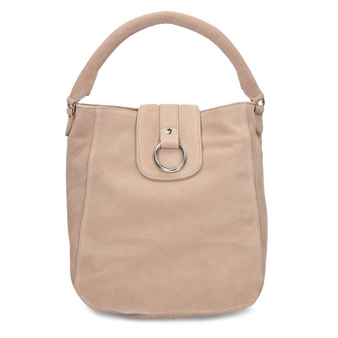 Béžová kožená dámská kabelka bata, béžová, 964-8643 - 26
