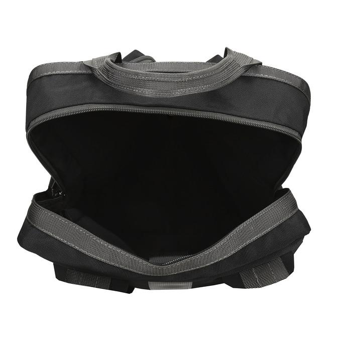 Černý městský unisex batoh bata, černá, 969-6312 - 15