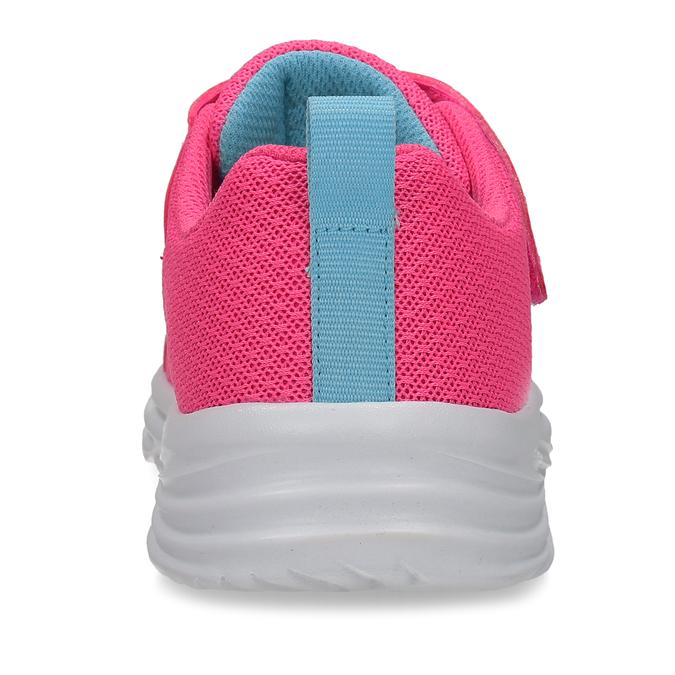 Růžové dětské tenisky s modrými prvky skechers, růžová, 309-5615 - 15