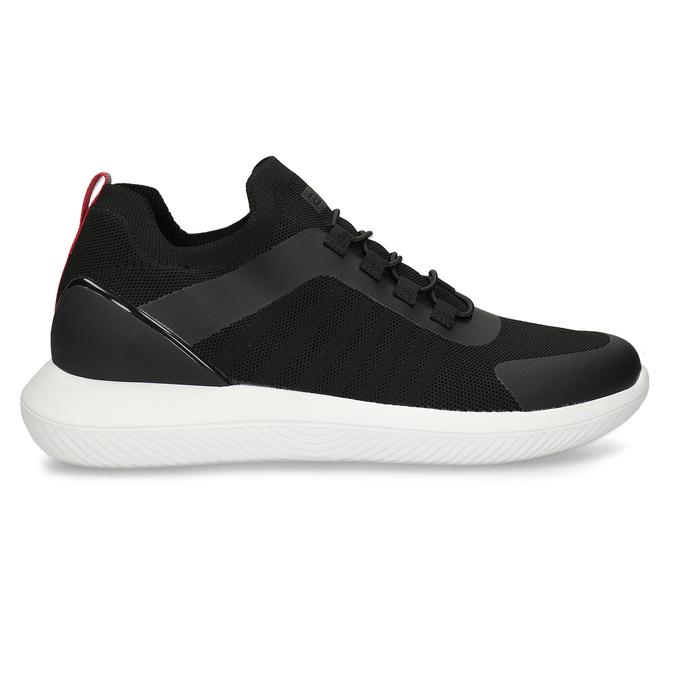 Černé pánské sportovní tenisky bata-3d-energy, černá, 849-6603 - 15