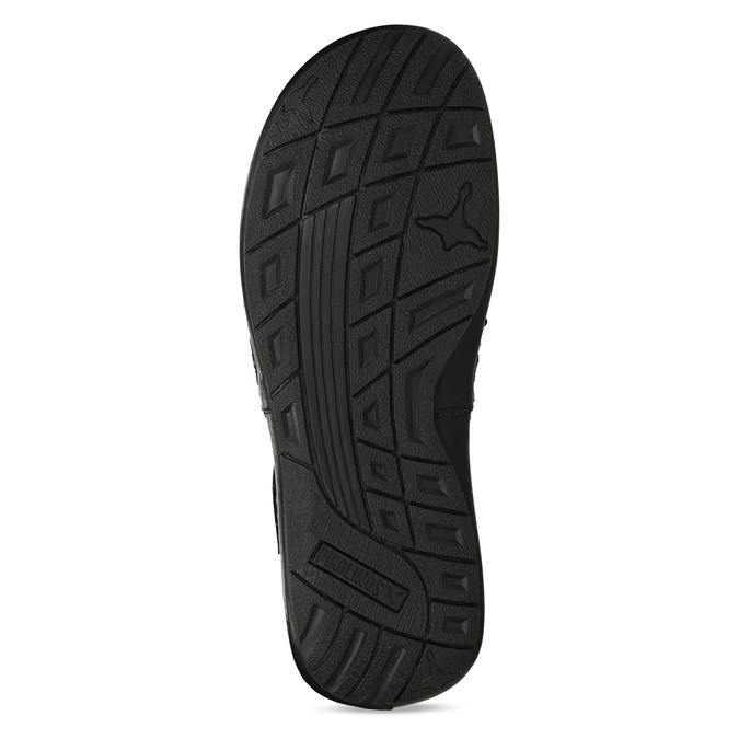 Černé pánské kožené sandály pikolinos, černá, 864-6612 - 18