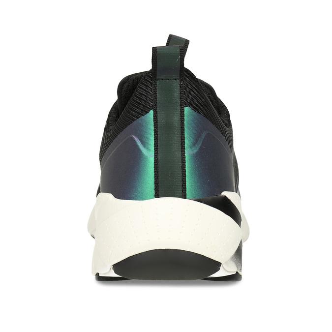 Černé chlapecké technologicky optimalizované tenisky geox, modrá, 419-9610 - 15