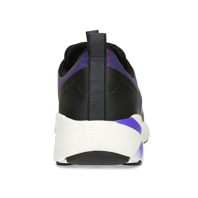 Fialové dívčí technologicky optimalizované sneakersky geox, fialová, 429-6608 - 15
