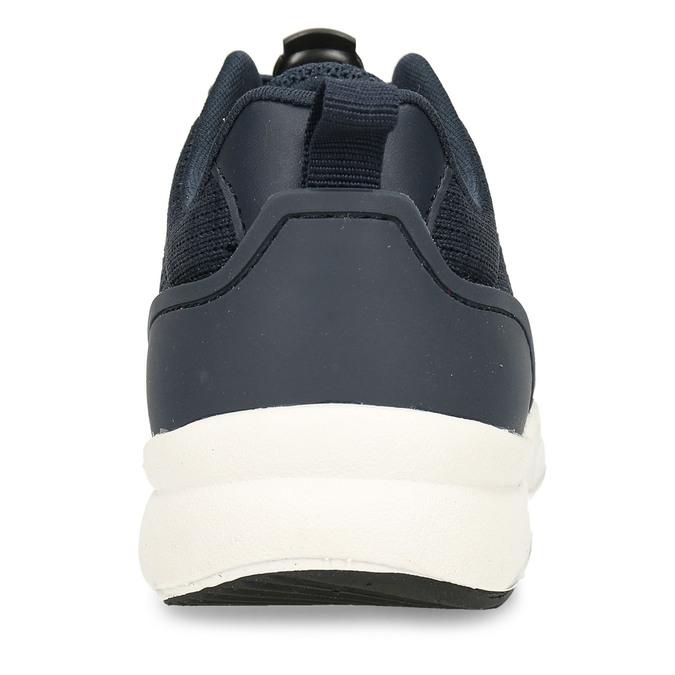 Modré dětské sportovní tenisky mini-b, modrá, 419-9605 - 15