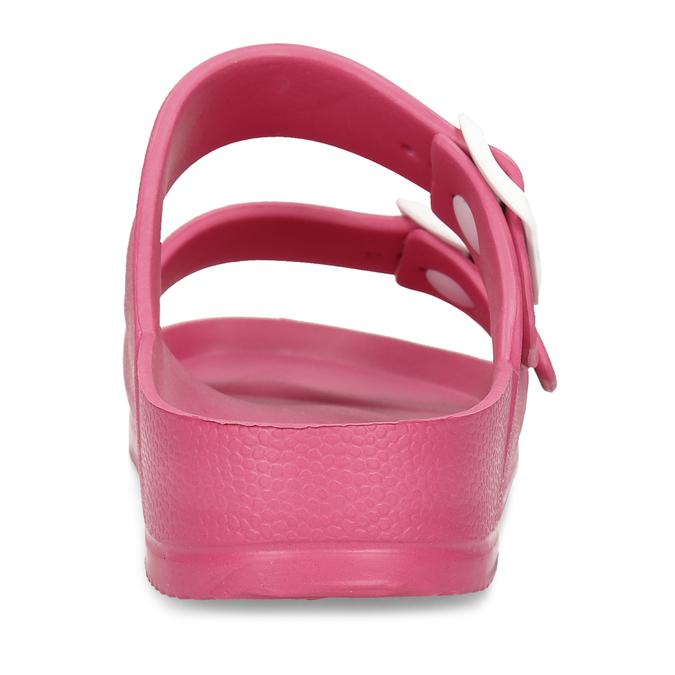 Růžové dámské pantofle bata, růžová, 572-5615 - 15