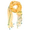 Oranžová a černá dámská letní šála bata, vícebarevné, 909-0872 - 26