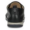 Černé dámské kožené polobotky comfit, černá, 524-6638 - 15