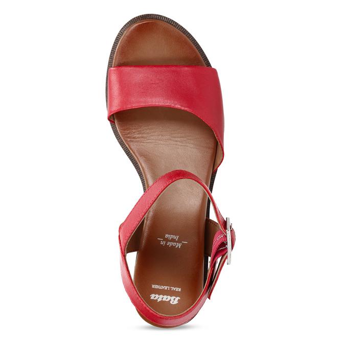 6645627 bata, červená, 664-5627 - 17