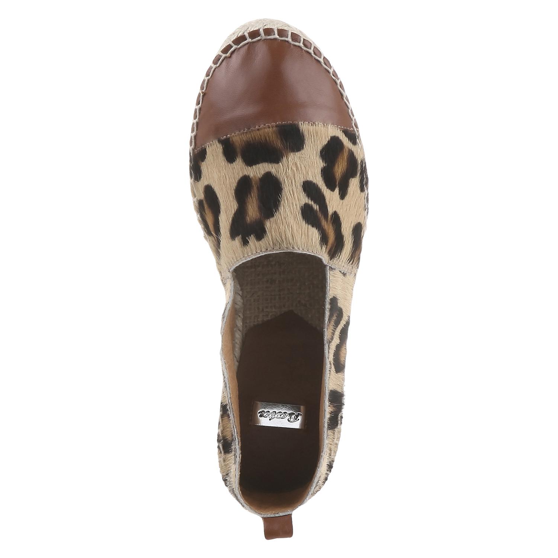 Výjimečné espadrilky s motivem leopardí kůže bata, hnědá, 2018-555-4300 - 19