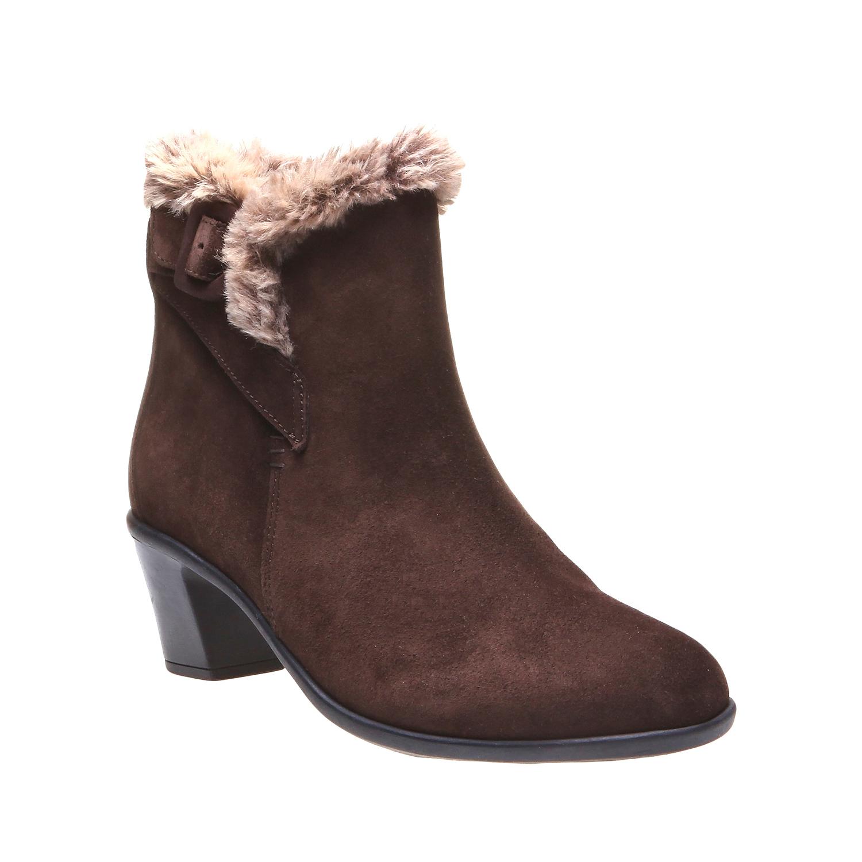 Roxy - kotníčková obuv, hnědá, 2018-693-4106 - 13