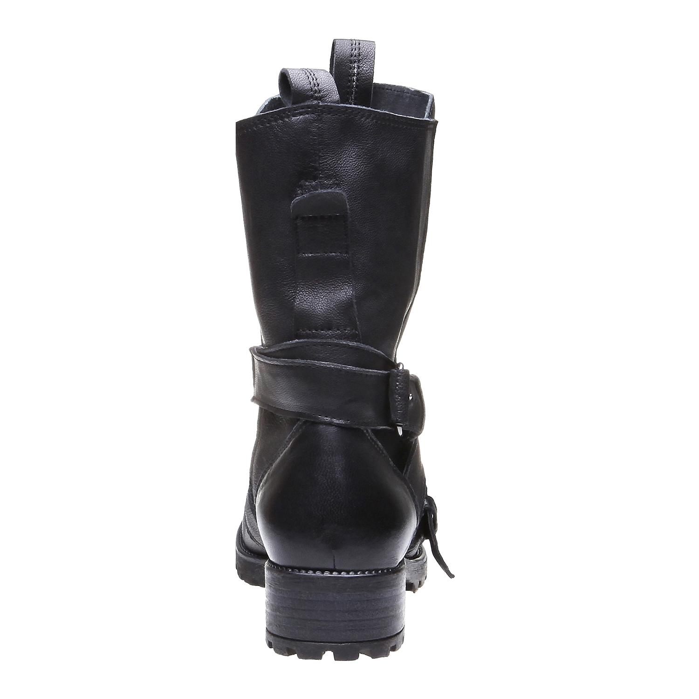 Marlyn - motorkářská obuv bata, černá, 2018-594-6318 - 17